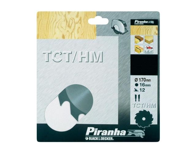 Piła tarczowa 170x16x12 z węglikiem TCT/HM Piranha