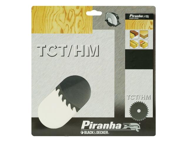 Piła tarczowa 180x20x40 z węglikiem TCT/HM Piranha