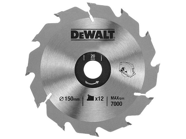 Piła tarczowa 150x20mm 12 zębów DeWALT