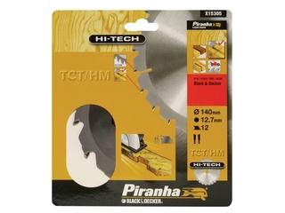 Piła tarczowa 140x12,7x12 z węglikiem TCT/HM HI-TECH Piranha