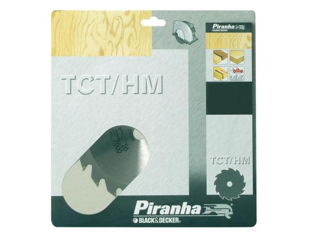 Piła tarczowa 136x10x24 z węglikiem TCT/HM Piranha