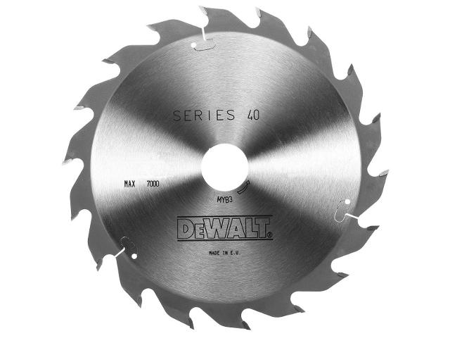 Piła tarczowa 184x16mm 16 zębów DeWALT