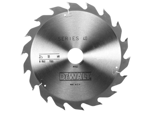 Piła tarczowa 240x30mm 18 zębów DeWALT