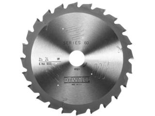 Piła tarczowa 260x30mm 24 zęby ATB DT4312 DeWALT