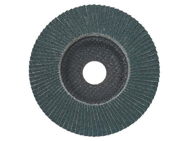 Wachlarzowa tarcza szlifierska lamelowa 125x22,2mm P60 ukośna Metabo