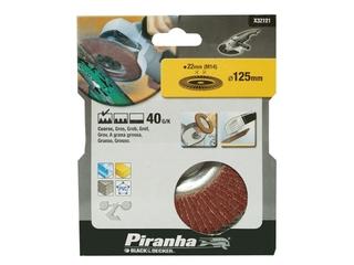 Wachlarzowa tarcza szlifierska 125x22,2mm P40 Piranha