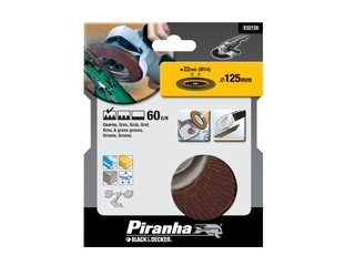 Wachlarzowa tarcza szlifierska 125x22,2mm P60 Piranha