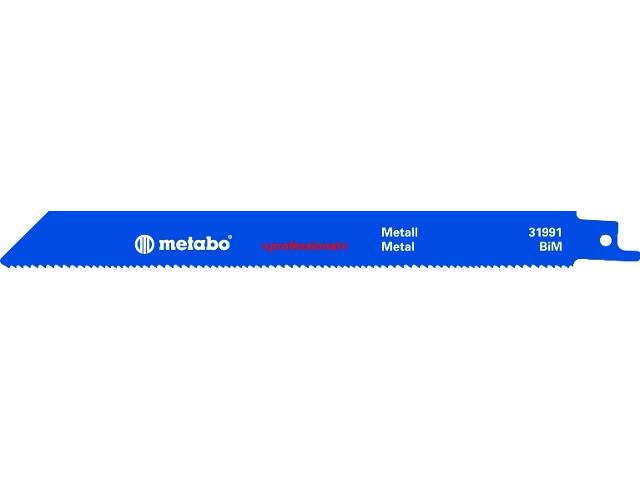Brzeszczot do pił BiM 200mm 1,8-2,6 5szt. Metabo