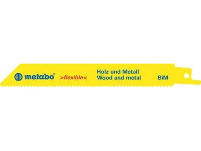 Brzeszczot do pił BiM 130/1,8-2,6mm 5szt. Metabo