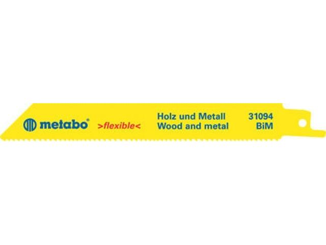 Brzeszczot do pił BIM 130/1,8-2,6mm 2szt. Metabo