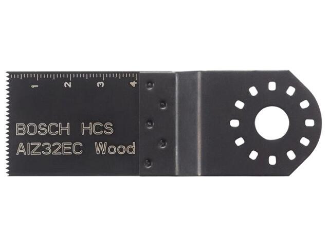 Brzeszczot do cięcia wgłębnego AIZ 32 EC HCS 2608661637 Bosch
