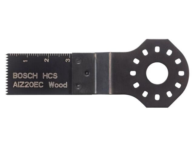 Brzeszczot do cięcia wgłębnego AIZ 20 EC HCS 2608661638 Bosch