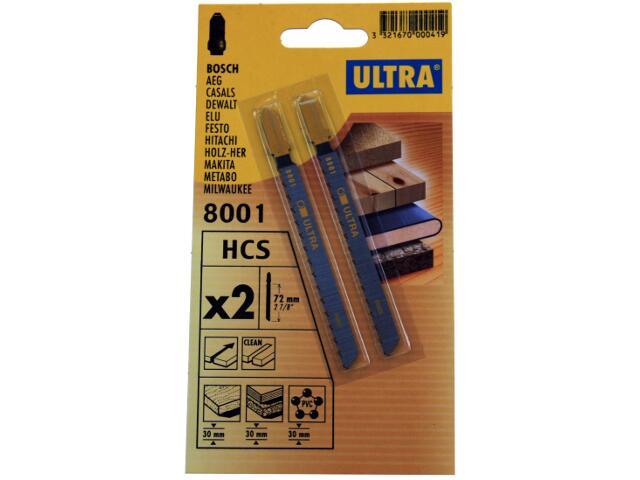 Brzeszczot do wyrzynarki uchwyt Bosch 2szt. U8001-2 Ultra