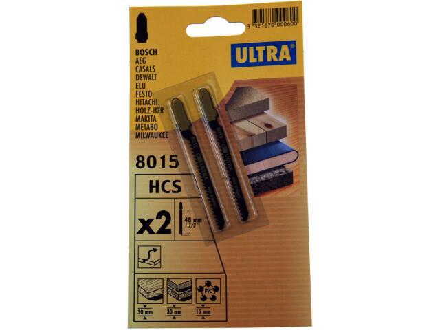 Brzeszczot do wyrzynarki uchwyt Bosch 2szt. U8015-2 Ultra