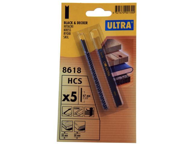 Brzeszczot do wyrzynarki uchwyt B&D 5szt. U8618 Ultra