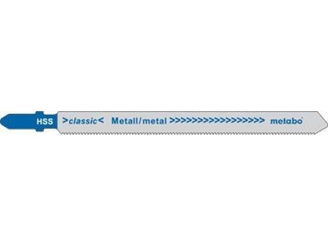 Brzeszczot do wyrzynarki HSS 100/1,2mm 25szt. Metabo