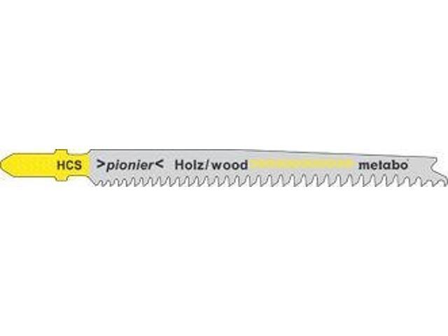 Brzeszczot do wyrzynarki PIONIER 90mm 25szt. drewno Metabo