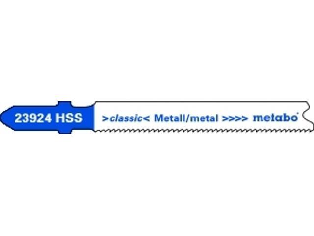 Brzeszczot do wyrzynarki HSS Progressive 66/1,1 5szt. 623924000 Metabo