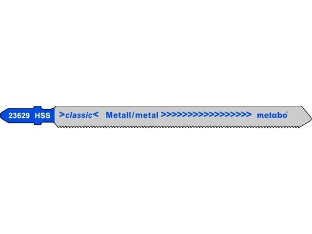 Brzeszczot do wyrzynarki HSS 100/1,2mm 5szt. Metabo