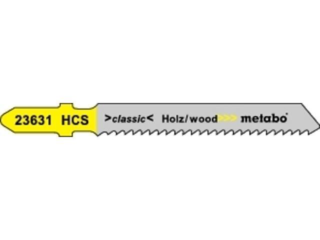 Brzeszczot do wyrzynarki HCS 50/2mm 5szt. Classic Metabo