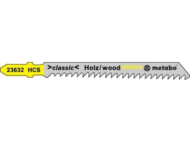 Brzeszczot do wyrzynarki HCS 75/3mm 5szt. Metabo