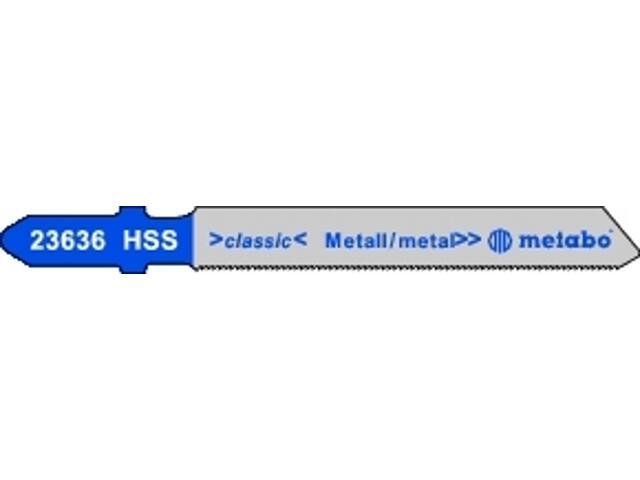Brzeszczot do wyrzynarki HSS 50/0,7mm 5szt. Metabo