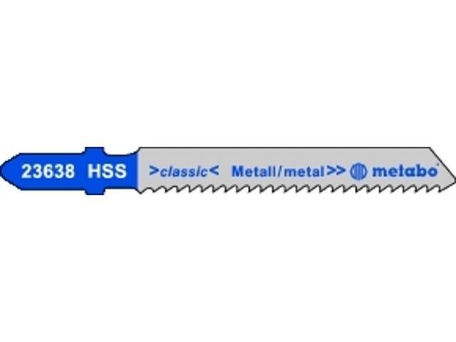 Brzeszczot do wyrzynarki HSS 50/2mm 5szt. Metabo