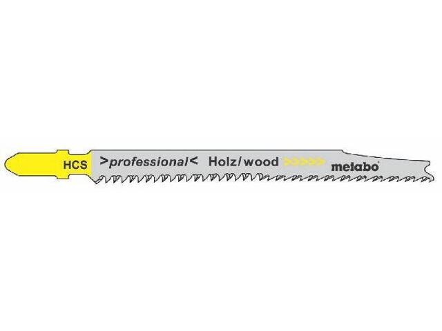Brzeszczot do wyrzynarki HCS 75/2,5mm 5szt. zęby w górę Metabo
