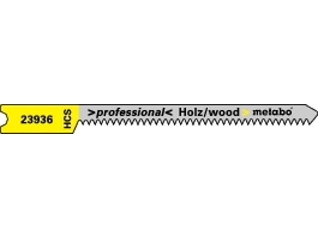 Brzeszczot do wyrzynarki HCS 50/1,35mm chwyt U 5szt. Metabo