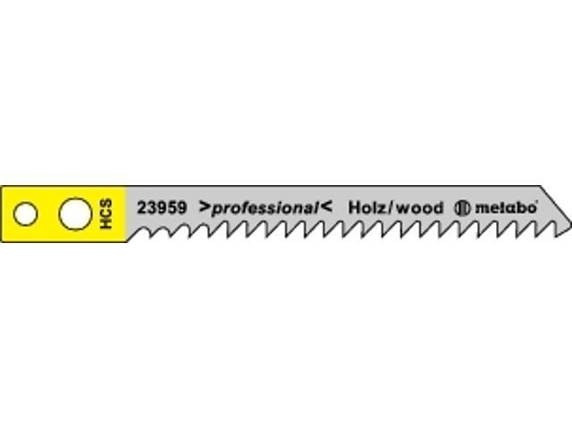 Brzeszczot do wyrzynarki HCS 60/2,70mm chwyt 5szt. Metabo