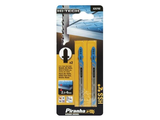 Brzeszczot do wyrzynarki HSS 86,5/63 HI-TECH typ T X25792 Piranha