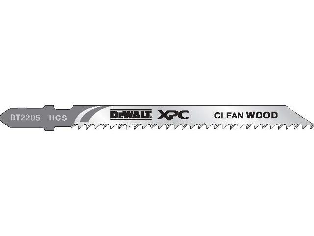 Brzeszczot do wyrzynarki XPC do drewna 100mm 5szt. DT2205 DeWALT