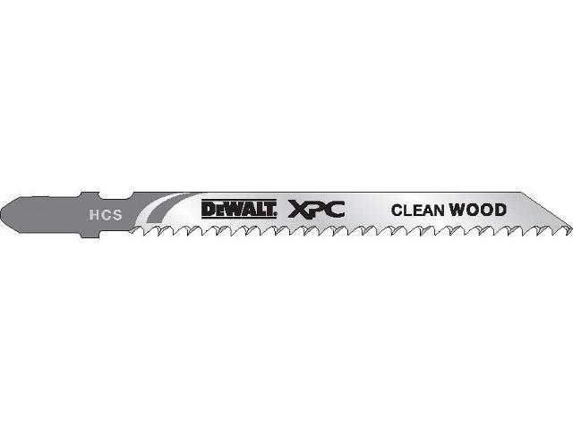 Brzeszczot do wyrzynarki XPC do drewna 100mm 20szt. DT2206 DeWALT
