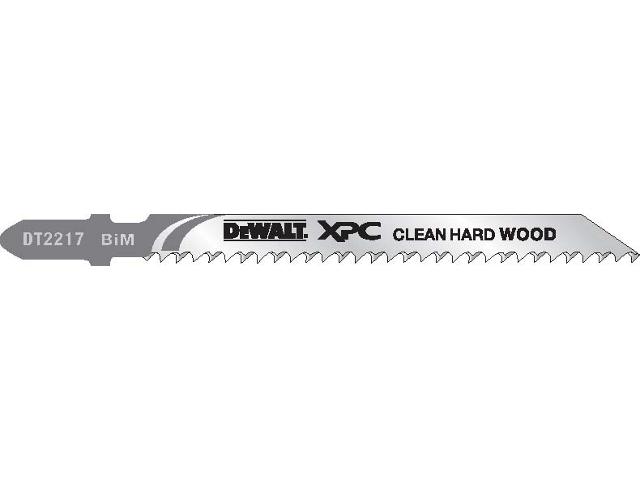Brzeszczot do wyrzynarki XPC do drewna 100mm 3szt. DT2217 DeWALT