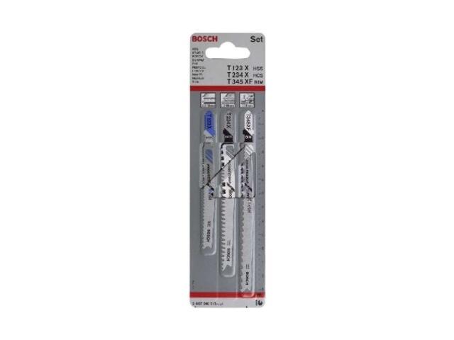 Zestaw brzeszczotów Progressor 3szt. 2607010515 Bosch