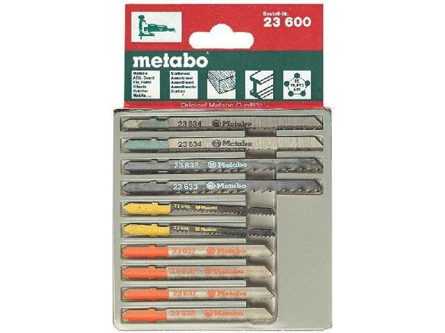 Zestaw brzeszczotów do wyrzynarek 10szt. Metabo