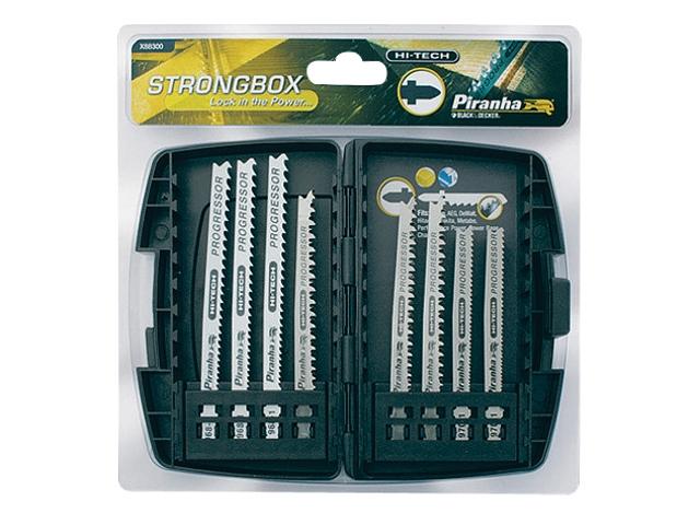 Zestaw brzeszczotów do wyrzynarek STRONGBOX 8szt. X88300 Piranha