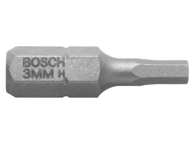 Końcówka wkrętakowa 6KT 3,0mm EH 3szt. 2607001722 Bosch