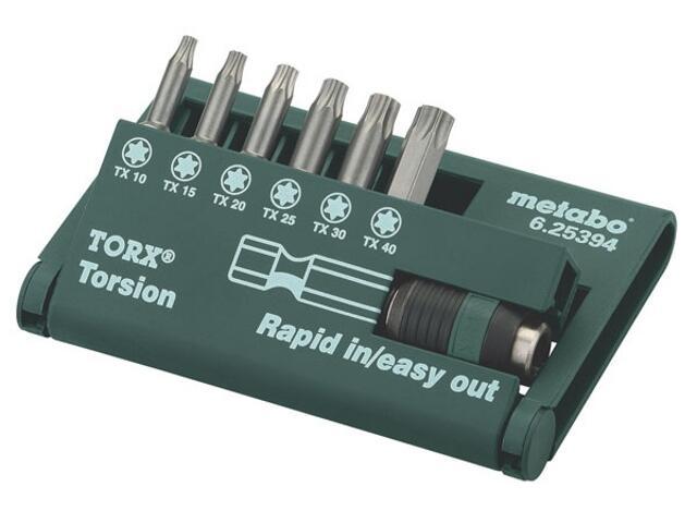 Końcówka wkrętakowa Box Torx 7cz. Metabo