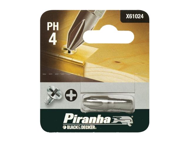 Końcówka wkrętakowa Ph4/25 Piranha