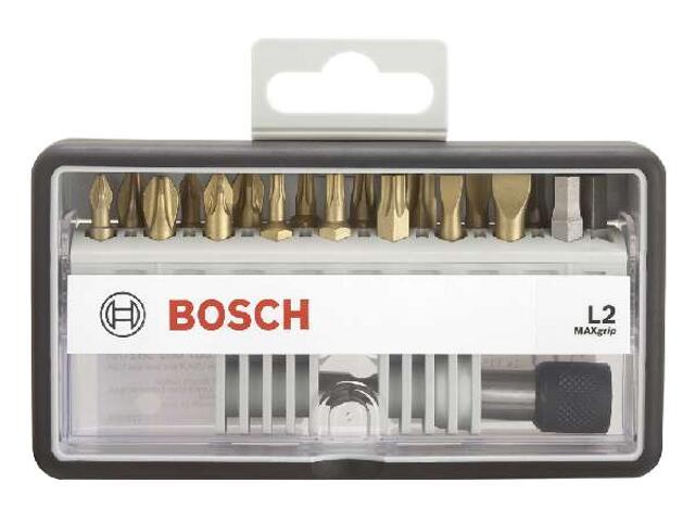 Zestaw bitów Robust Line 18szt. +1 Maxgrip L2 2607002582 Bosch