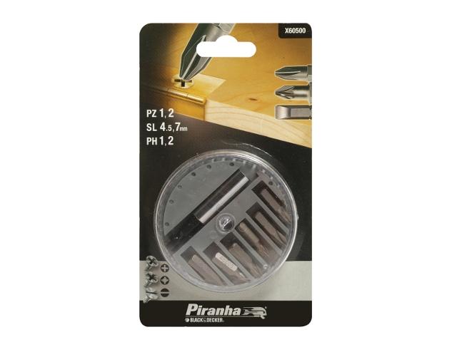 Zestaw bitów 7szt. X60500 Piranha