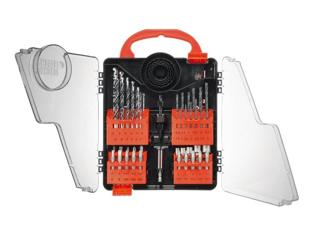 Zestaw bitów A7139 52szt. z wiertłami Black&Decker