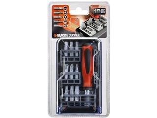 Zestaw bitów A7130 19szt. Black&Decker