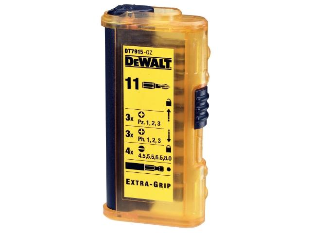 Zestaw bitów DT7915 11cz. DeWALT