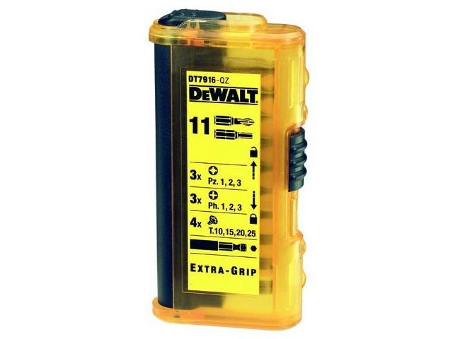 Zestaw bitów DT7916 11cz. DeWALT