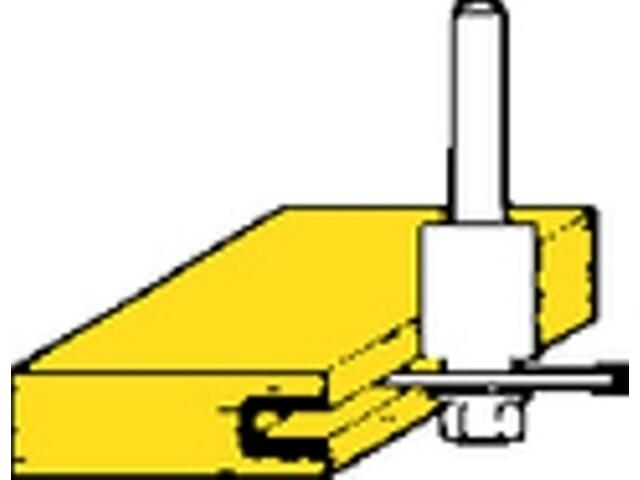 Frez tarczowy do rowków HM 40x2,5mm Metabo