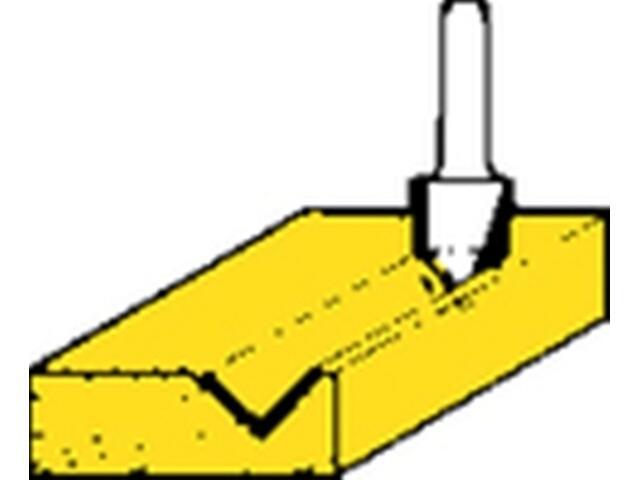 Frez do rowków HSS 14x18 90° Metabo