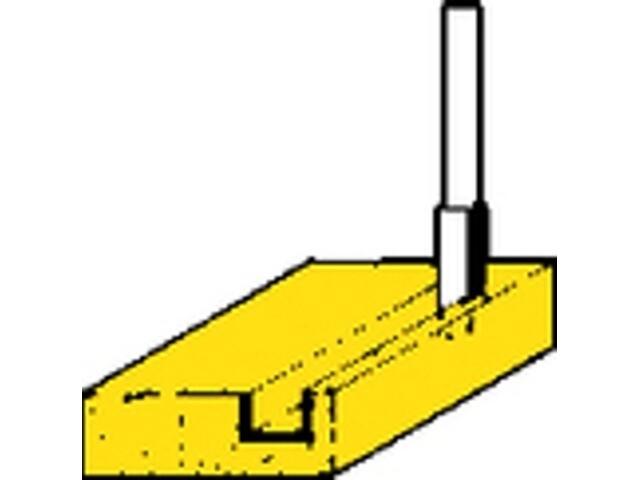Frez do rowków 10mm HW (HM) Metabo