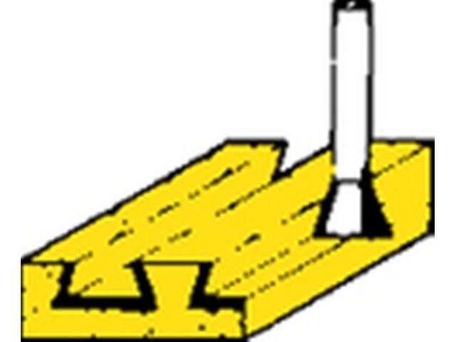 Frez do zapłetwień HM 18mm Metabo